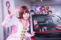 秋葉原UDX駐車場のアイドルマスター・デレマス痛車オフ会の写真画像_6428