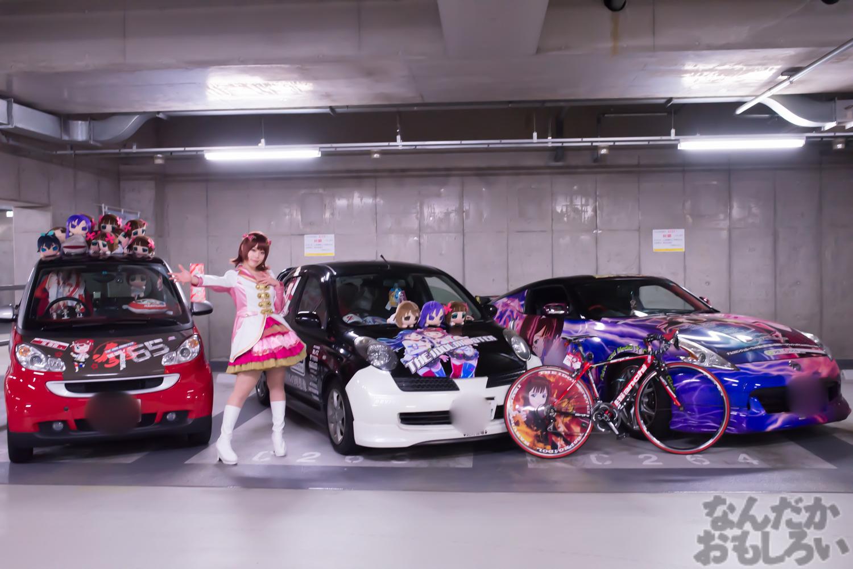秋葉原UDX駐車場のアイドルマスター・デレマス痛車オフ会の写真画像_6423