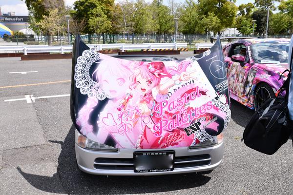 『痛車天国2018』ガルパブーム到来!大集結した「バンドリ!ガールズバンドパーティ!」痛車をレポート 人気はロゼリア、Poppin'Party-14