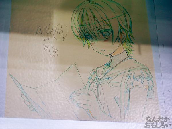 TVアニメ『がっこうぐらし!』展が秋葉原で開催 笑顔・絶望顔など貴重な生原画、缶詰、サイン入りシャベルなどたくさん展示!0059