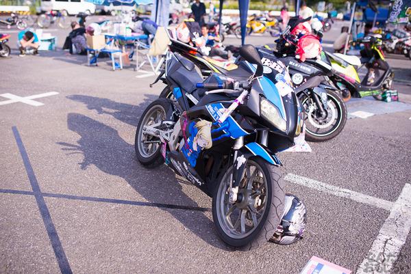 『痛Gふぇすたinお台場2015』痛いバイクもたくさん集結!痛単車まとめ ラブライブ!多め、ミク痛単車とミクレイヤーさんの合わせも_2495