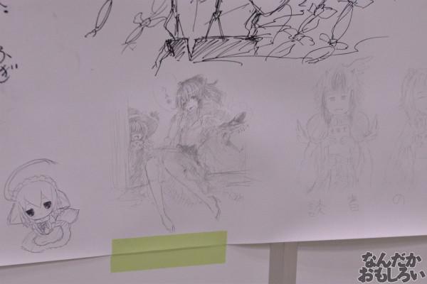 『博麗神社秋季例大祭』様々な「東方Project」キャラが描かれたラクガキコーナーを紹介_1243