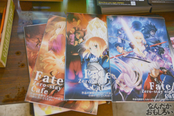 「Zero」「stay night」のコラボカフェ『Fate/Zero~stay night Cafe』フォトレポート_0415