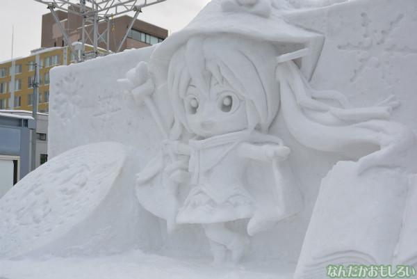 これぞ雪ミク!『SNOW MIKU 2014』西11丁目会場の雪ミク雪像や物販の様子などなど
