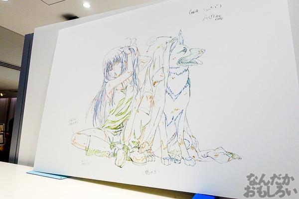 TVアニメ放送中「Charlotte」の貴重な原画を大量展示した展示会がアキバで開催!早速会場の様子をお届け_3610
