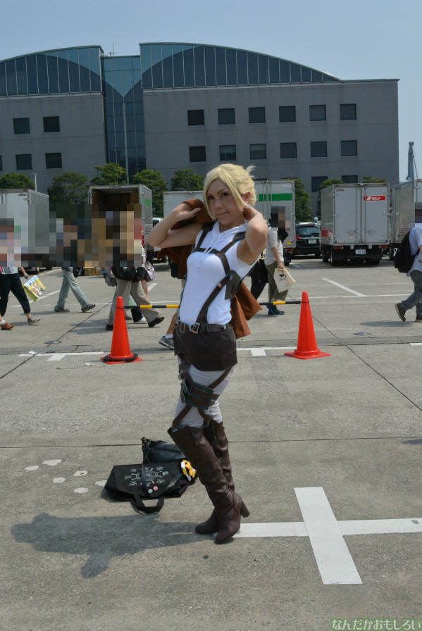 『コミケ84』進撃の巨人、ソードアート・オンライン、女性のコスプレイヤーさんまとめ_0010