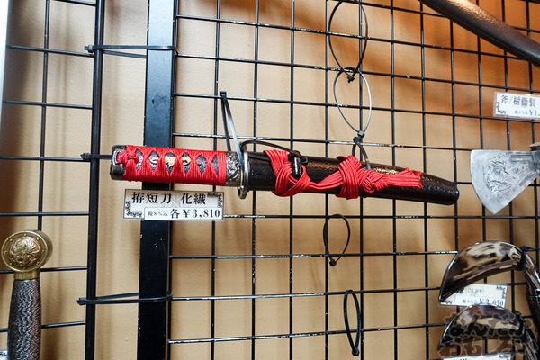 刀剣などを扱う秋葉原で有名な武器防具屋『武装商店』のフォトレポート_00949