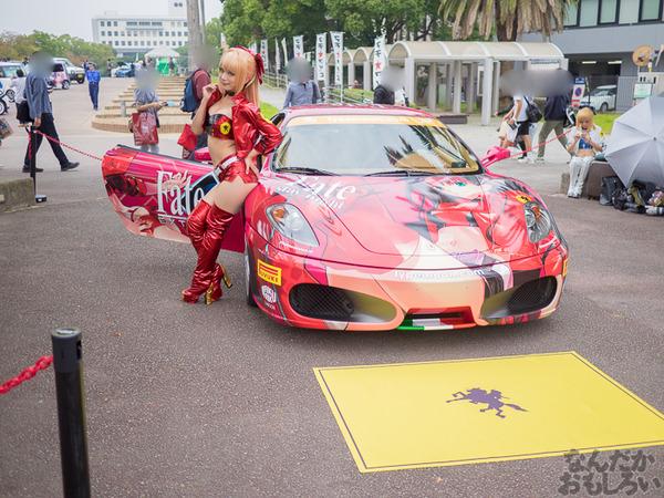 『マチアソビvol.15』武内崇さん描き下ろし痛車「Fateシリーズ」仕様のフェラーリ展示!ハイクオリティな超高級痛車を撮影してきた0003