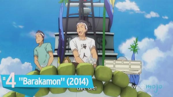 良い気分にさせてくれるアニメシリーズランキング2