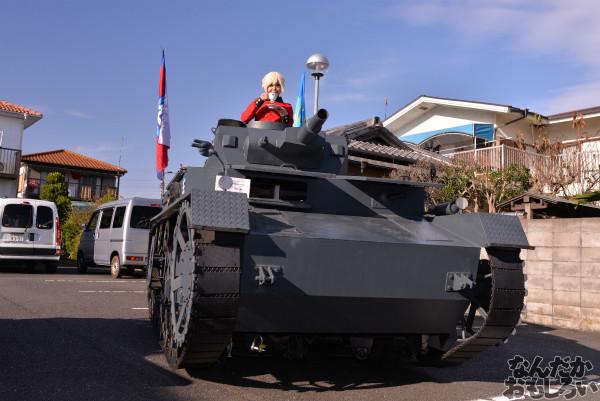 ガルパン痛車や実物大戦車模型をバッグにレイヤーさんを撮影!『第18回大洗あんこう祭』コスプレフォトレポート_9963