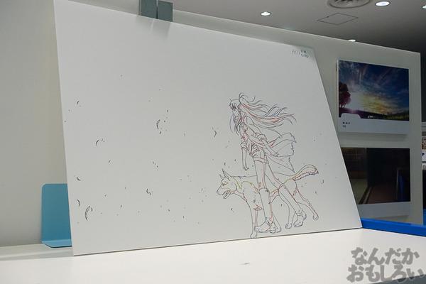 TVアニメ放送中「Charlotte」の貴重な原画を大量展示した展示会がアキバで開催!早速会場の様子をお届け_3590
