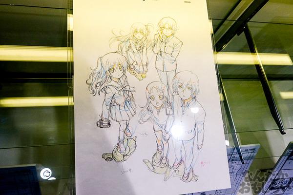 TVアニメ放送中「Charlotte」の貴重な原画を大量展示した展示会がアキバで開催!早速会場の様子をお届け_3570
