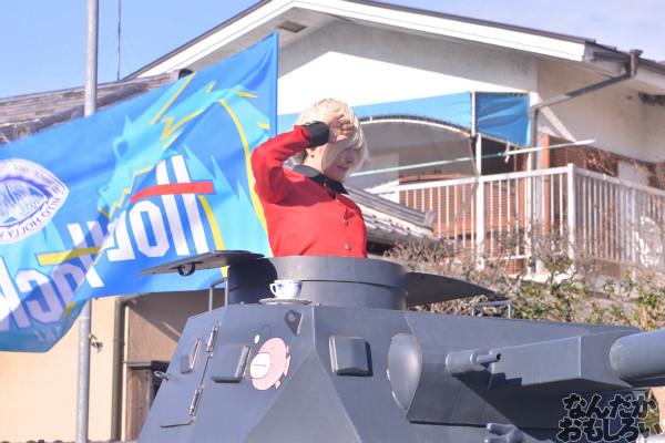ガルパン痛車や実物大戦車模型をバッグにレイヤーさんを撮影!『第18回大洗あんこう祭』コスプレフォトレポート_9968
