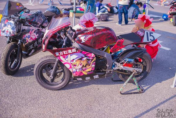 『痛Gふぇすたinお台場2015』痛いバイクもたくさん集結!痛単車まとめ ラブライブ!多め、ミク痛単車とミクレイヤーさんの合わせも_2488