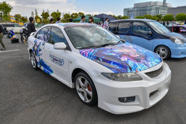 『痛車天国2018』765プロ、346プロのアイドルが集結!「アイドルマスター」シリーズ痛車レポート-49