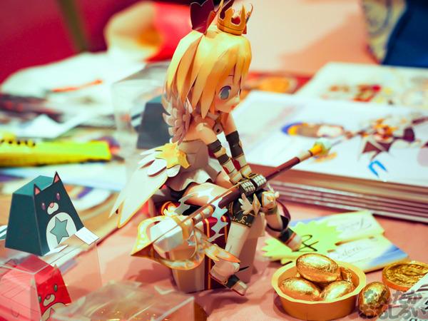 もうこれフィギュアじゃないか!?『コミックワールド香港41』で見かけた「白猫プロジェクト」などのハイクオリティなペーパークラフト!_0741