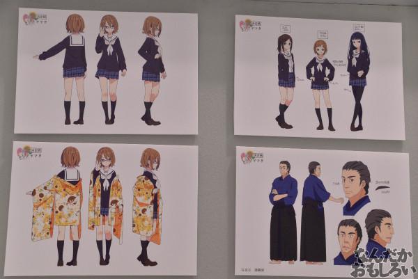 TVアニメ「ハナヤマタ」展が秋葉原で開催!原画、設定資料、台本、コラボ商品など数多く展示!_8486