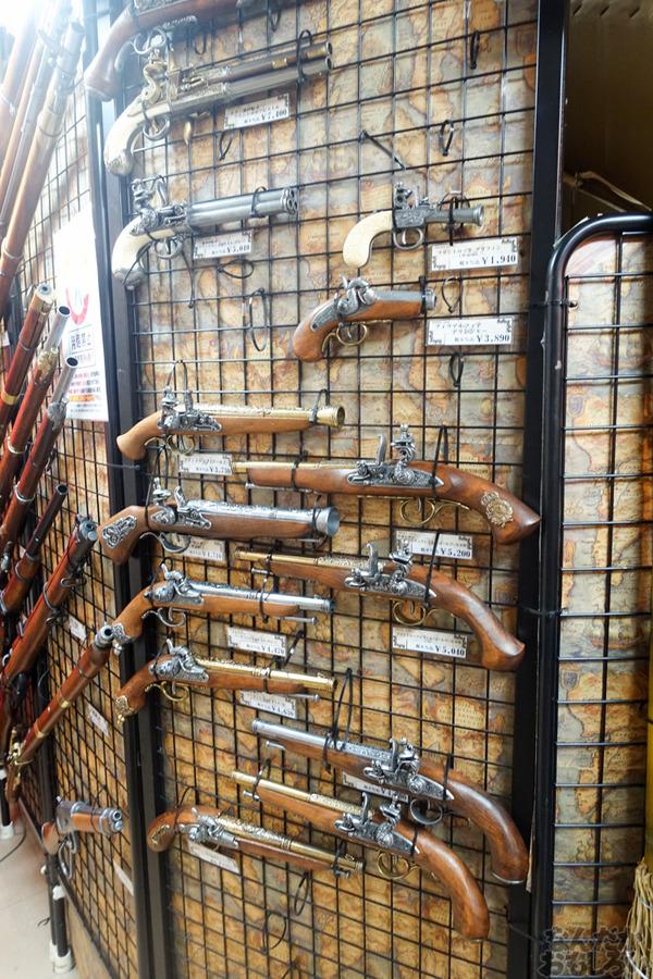 刀剣などを扱う秋葉原で有名な武器防具屋『武装商店』のフォトレポート_00929