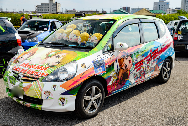 『第11回足利ひめたま痛車祭』今回も「ラブライブ!」痛車たくさん参加!その痛車たちをどどんとお届け_7266