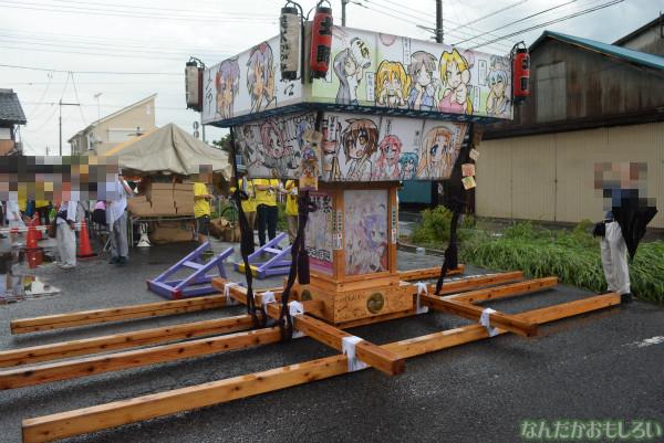 『鷲宮 土師祭2013』ゲリラ雷雨の様子_0670