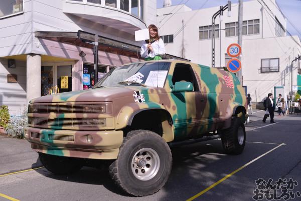ガルパン痛車や実物大戦車模型をバッグにレイヤーさんを撮影!『第18回大洗あんこう祭』コスプレフォトレポート_9930