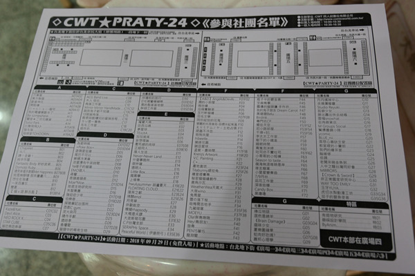 XWTpartyin台北001