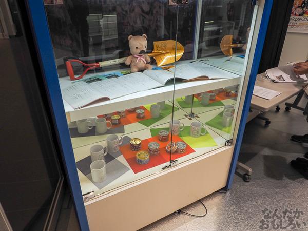 TVアニメ『がっこうぐらし!』展が秋葉原で開催 笑顔・絶望顔など貴重な生原画、缶詰、サイン入りシャベルなどたくさん展示!0018