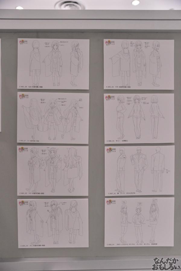 TVアニメ「ハナヤマタ」展が秋葉原で開催!原画、設定資料、台本、コラボ商品など数多く展示!_8488