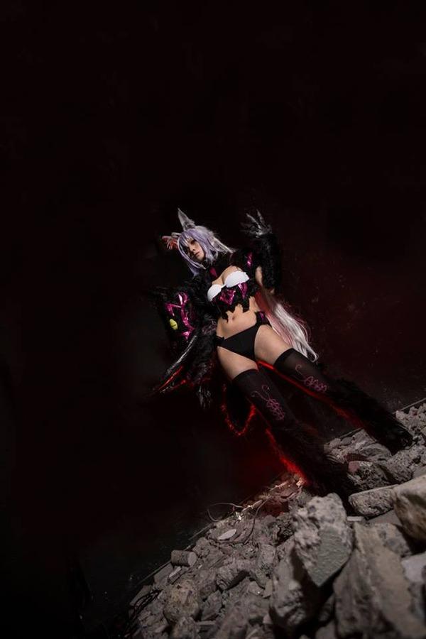 『Fate/Apocrypha』香港コスプレイヤーによる赤のアーチャー&ライダー1