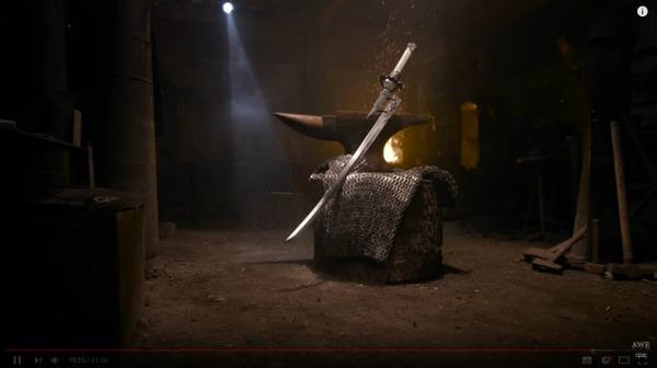 『ニーア オートマタ』海外の鍛冶職人、大型剣「白の約定」をリアルに制作!