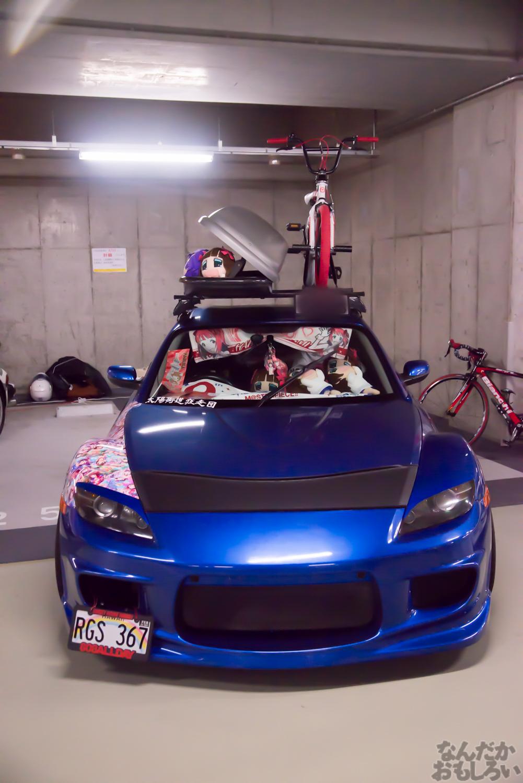 秋葉原UDX駐車場のアイドルマスター・デレマス痛車オフ会の写真画像_6493