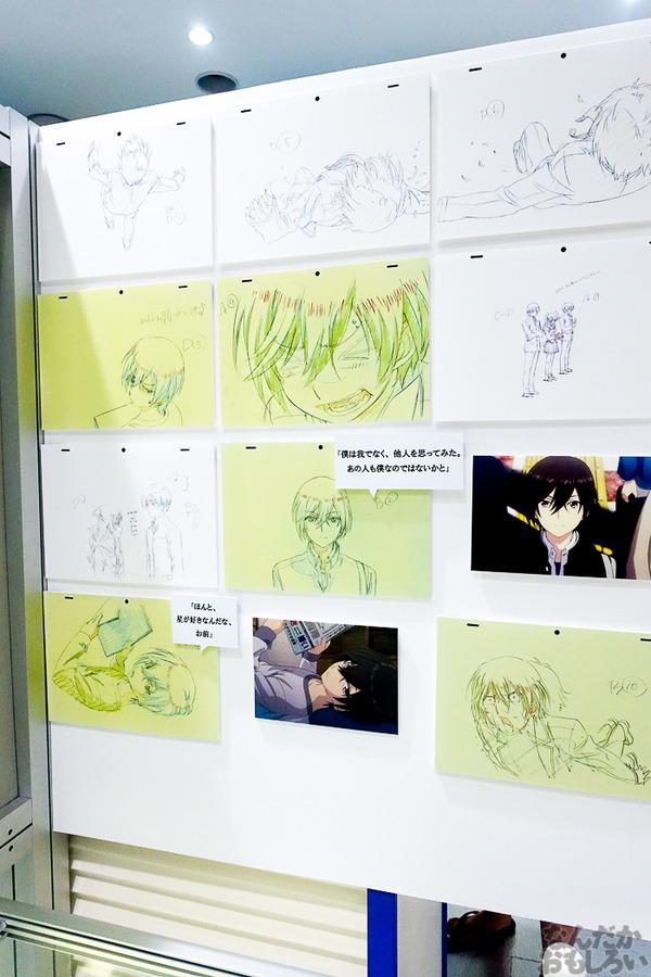 TVアニメ放送中「Charlotte」の貴重な原画を大量展示した展示会がアキバで開催!早速会場の様子をお届け_3600