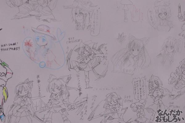『博麗神社秋季例大祭』様々な「東方Project」キャラが描かれたラクガキコーナーを紹介_1248