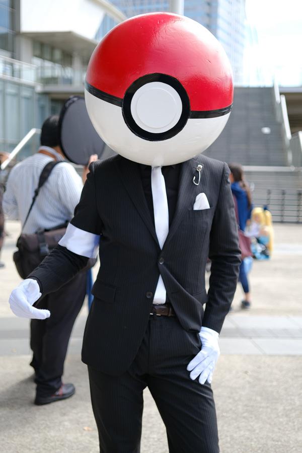 東京ゲームショウ2018の2日目コスプレレポート001
