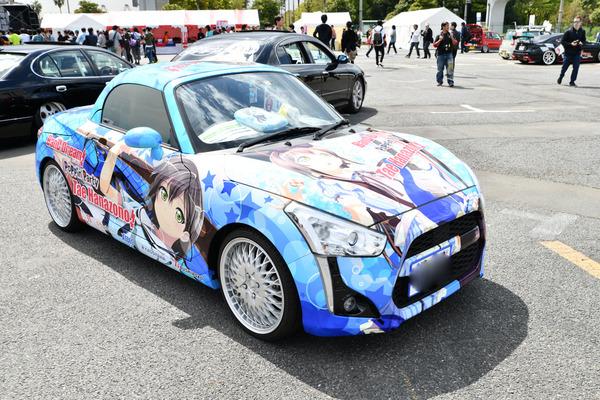 『痛車天国2018』ガルパブーム到来!大集結した「バンドリ!ガールズバンドパーティ!」痛車をレポート 人気はロゼリア、Poppin'Party-29