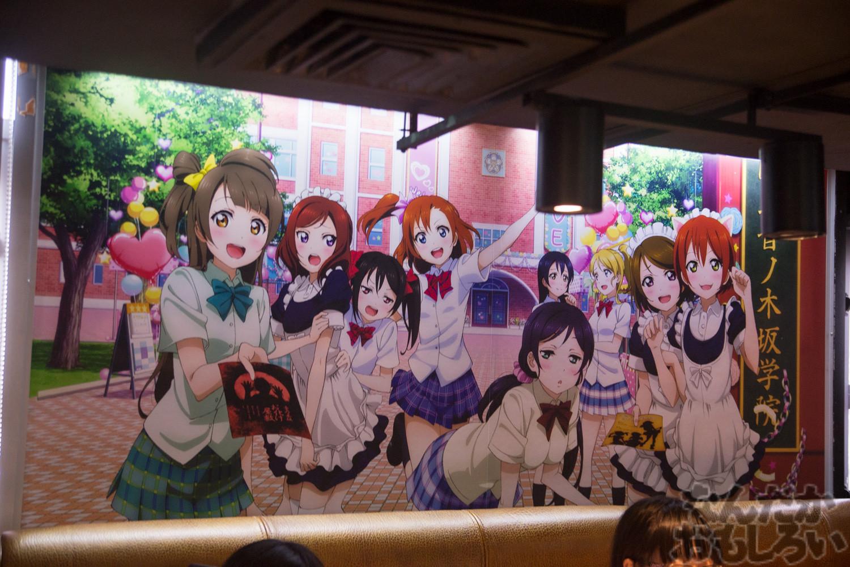 ラブライブ!×香港youme cafeのカフェ写真画像フォトレポート