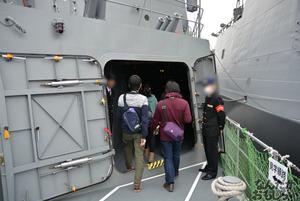 『第2回護衛艦カレーナンバー1グランプリ』護衛艦「こんごう」、護衛艦「あしがら」一般公開に参加してきた(110枚以上)_0711