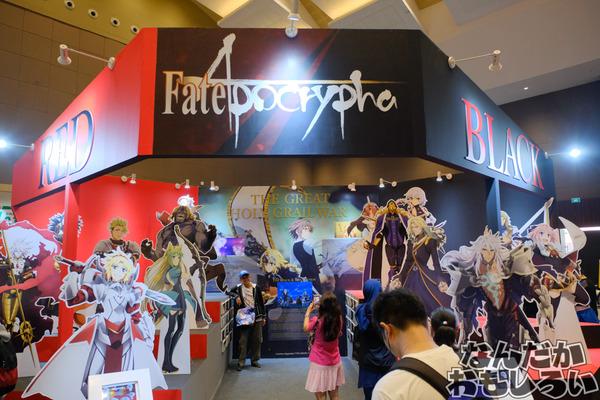 『Fate/Apocrypha』インドネシアのイベントで両陣営サーヴァント大集結の大規模展示!その様子を写真でお届け
