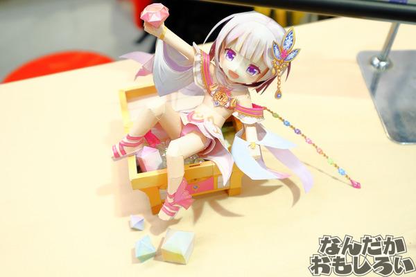 『白猫プロジェクト』香港のペーパークラフトサークルが台湾で出した「蒼い海の少女ノア」「100億の少女ティナ」のクオリティが異常!4029