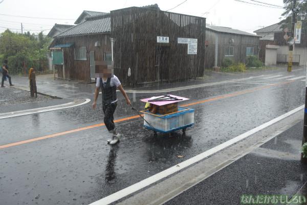 『鷲宮 土師祭2013』ゲリラ雷雨の様子_0658