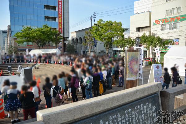 中村悠一さんと杉田智和さんが出演するから!?『マチアソビ vol.12』東公園ステージにたくさんの人が待機中_0229