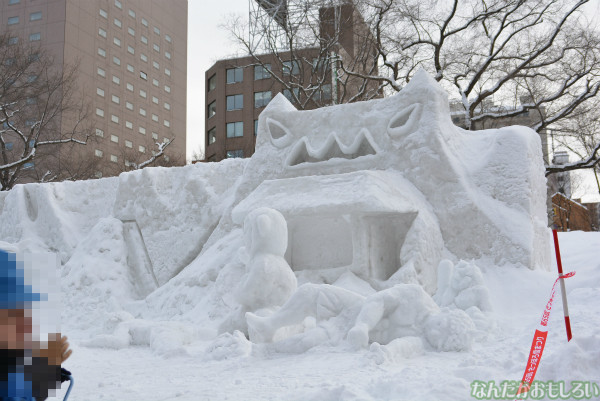 『SNOW MIKU 2014』西11丁目会場の雪ミク雪像や物販の様子などなど_0169