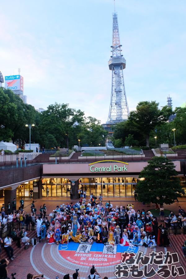 『コスサミ2017』初開催の前夜祭&名古屋栄の地下街コスプレパレード3645