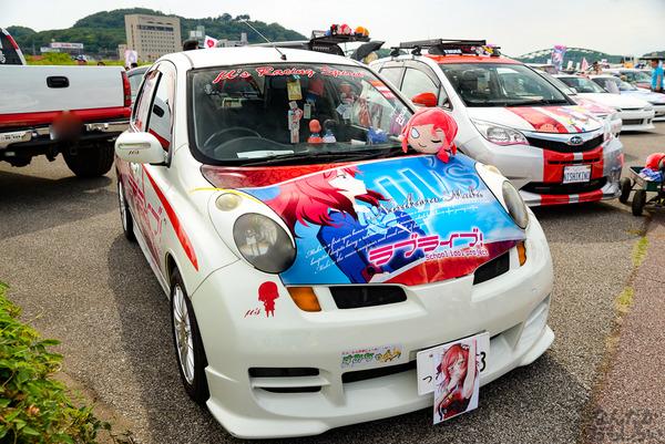 『第11回足利ひめたま痛車祭』今回も「ラブライブ!」痛車たくさん参加!その痛車たちをどどんとお届け_7313