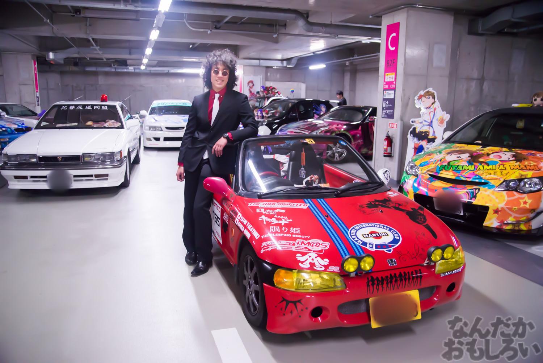 秋葉原UDX駐車場のアイドルマスター・デレマス痛車オフ会の写真画像_6502
