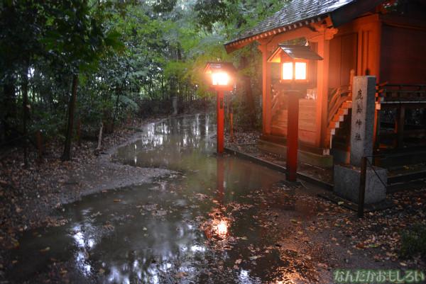 『鷲宮 土師祭2013』ゲリラ雷雨の様子_0676