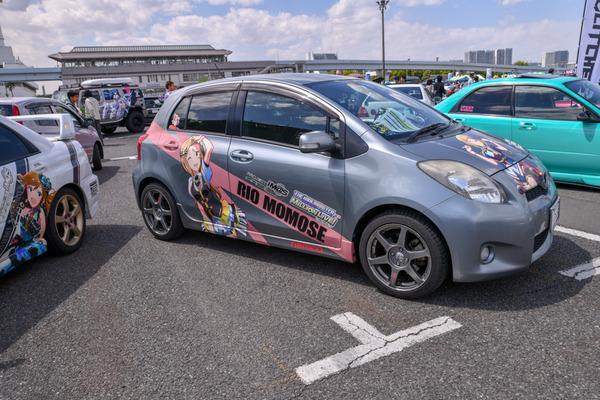 『痛車天国2018』765プロ、346プロのアイドルが集結!「アイドルマスター」シリーズ痛車レポート-30