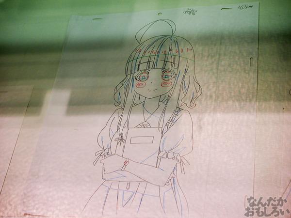 TVアニメ『がっこうぐらし!』展が秋葉原で開催 笑顔・絶望顔など貴重な生原画、缶詰、サイン入りシャベルなどたくさん展示!0043