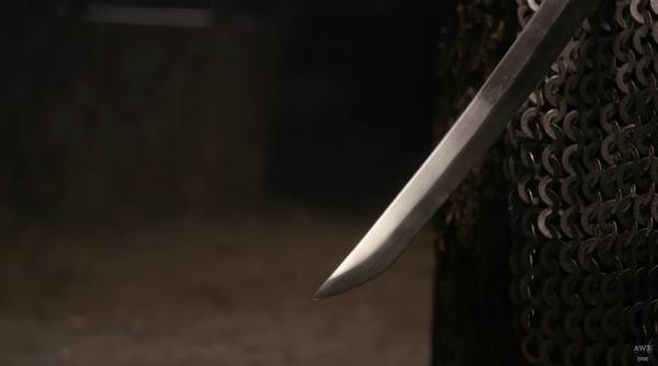『ニーア オートマタ』海外の鍛冶職人、大型剣「白の約定」をリアルに制作!_073141