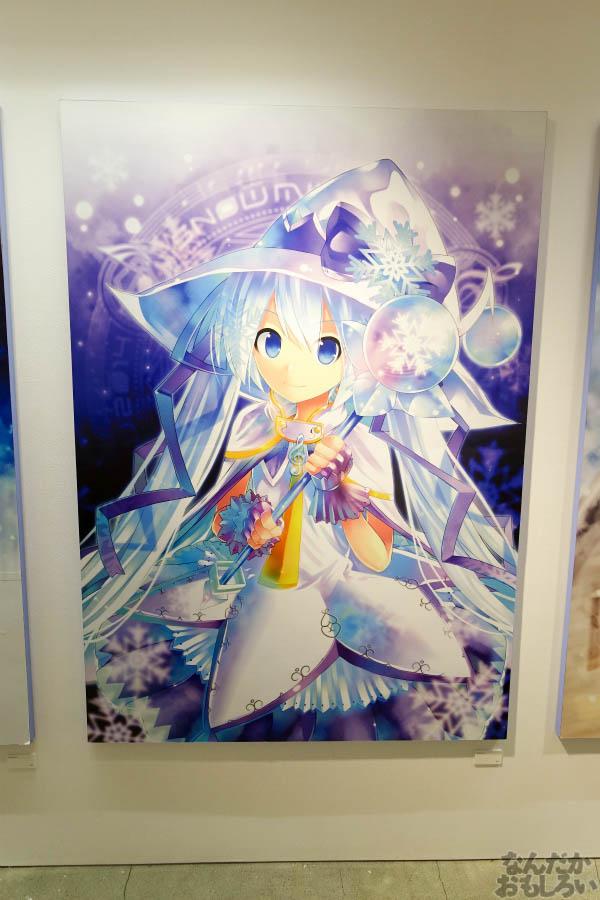 東京で雪ミクに出会える「SNOW MIKU東京展」初開催!_00787